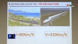 Bộ Giao thông vận tải làm việc với tỉnh Thanh Hóa về Dự án đường sắt tốc độ cao trên trục Bắc – Nam