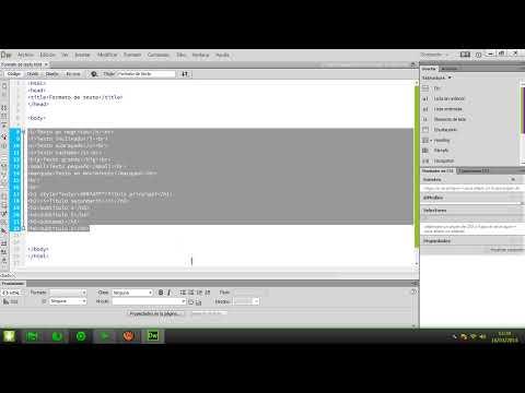Curso HTML y HTML5 | 2.-Formatos de texto