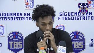 Paris Bass - Jugador del Rafael Barias - Final TBS 2019 (16-7-2019)