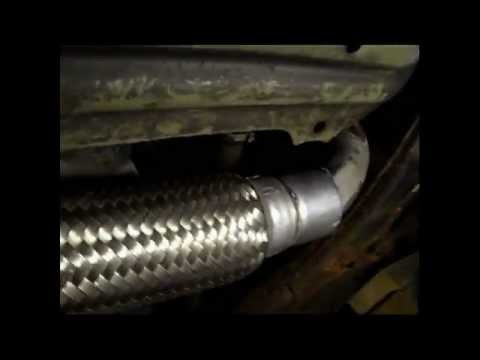 Exhaust Flex Pipe Replacement On A 1995 Toyota Corolla