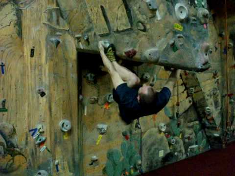 Albany's Indoor Rock Gym - The Warm-up