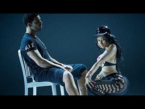 Nicki Minaj Gives Drake a Lap Dance in Anaconda Video Teasers!