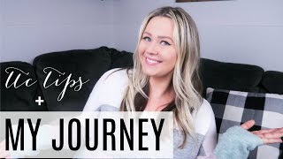 TTC TIPS + MY JOURNEY | OVULATION TRACKING, BBT, TIMING, AND PRODUCTS