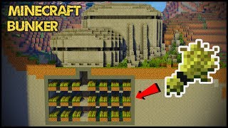 How To Make A BUNKER In Minecraft!