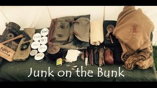 Wisdom of the Wall Tent Part 4 Junk on the Bunk