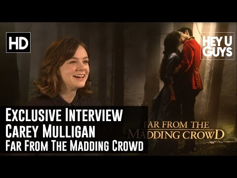 Carey Mulligan Exclusive Interview - Far From the Madding Crowd