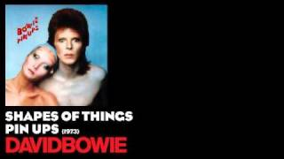 Watch David Bowie Shapes Of Things video