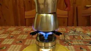 The Candle Power - Alcohol stove # 15 (part 2/2)