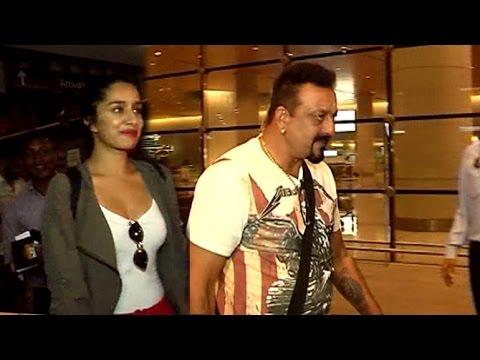Airport Spotting 18th July 2016 | Sanjay Dutt, Sharaddha Kapoor