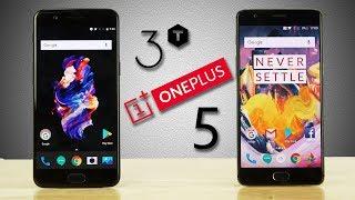 OnePlus 5 vs OnePlus 3T - Speedtest Comparison!