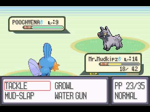 Pokemon Sapphire - p3 (GBA) - User video
