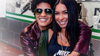 The love story - Bruno Mars and Jessica Caban