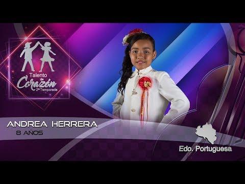Talento de Corazón Estado Portuguesa Cuarto Programa Andrea Herrera
