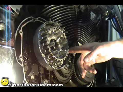 Honda Motorcycle Oil Change