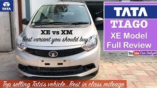 Tata Tiago 2018 XE,XM Model Interior,Exterior Walkaround | Tiago XE,XM Features Review