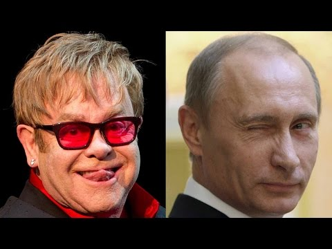 Vladimir Putin Called Elton John to Talk About Gay Rights?!?