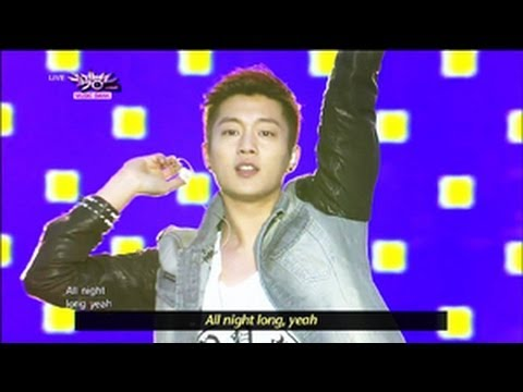 BEAST - Beautiful Night (2013.05.25) [Music Bank w/ Eng Lyrics]