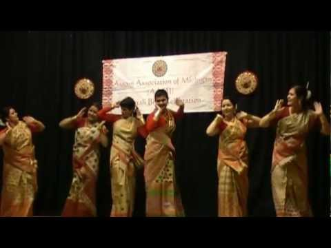 Bihu Dance - Michigan Bihu 2012