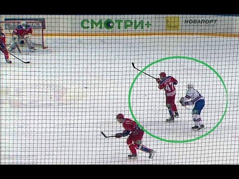 Ковальчук срывается на Радулове / Kovalchuk loses temper, slashes Radulov