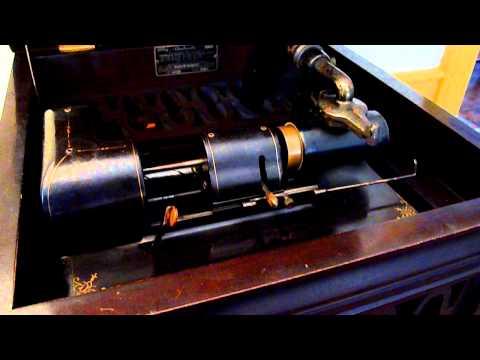 1920s ALCOHOLIC BLUES -- Van Eps Banjo Orch. -- Everlasting cylinder 3480 -- Amberola III -- gmmix