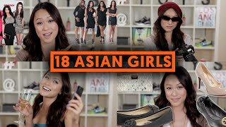 18 TYPES OF ASIAN GIRLS