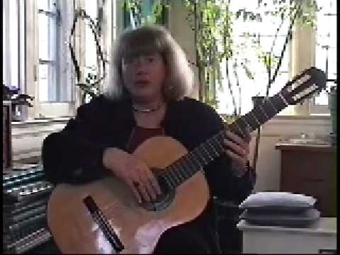 The Ida Presti right hand technique for guitar - Alice Artzt - 1/4
