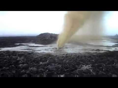 Directional Drilling Disaster!!!  Drilling Through the Surface! Oil Rig Blowout Well