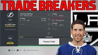 Trade Breakers: NHL 17 Trade Simulation. Bishop To LA!