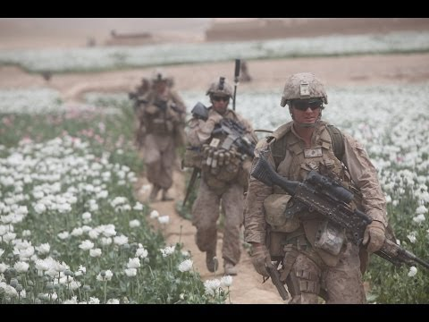 US Troops Protecting and Harvesting Opium/Heroin in Afghanistan