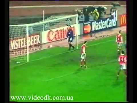 Динамо Киев - Арсенал Лондон 3-1 ЛЧ(04.11.1998)