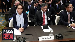 Why is a Nobel-winning human rights activist defending Myanmar on Rohingya atrocities?