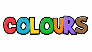 Colours for children | Colours with brush