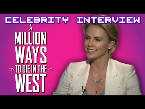 Charlize Theron talks about kissing Seth Macfarlane and being in the friendzone.