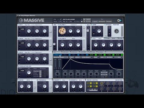 TRAMPLIN.PRO: Techno chord в NI Massive