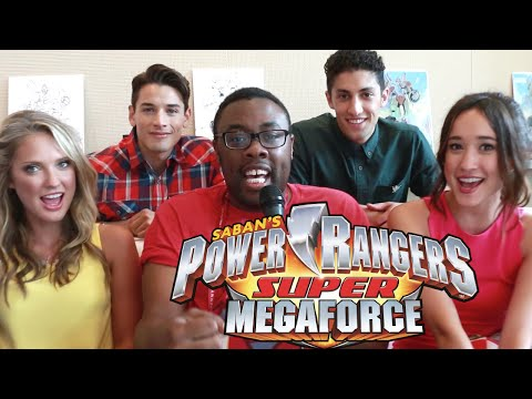 POWER RANGERS Super Megaforce Cast Interview : Black Nerd