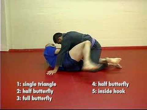 Half Guard Leg Position Drill for BJJ & Submission Grappling