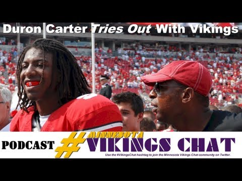 Vikings Do Not Sign Duron Carter After Tryout