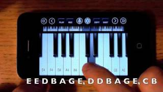 iPhone Piano and iPod Touch Piano Songs