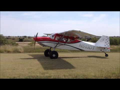 Demo Flights in the RANS S-20 Raven