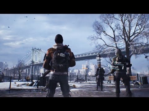 Tom Clancy's The Division - OFFICIAL GAMEPLAY (E3 2013 Game Reveal)