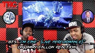 "BTS ""I'm Fine"" (Live Performance)"" on Jimmy Fallon Reaction"