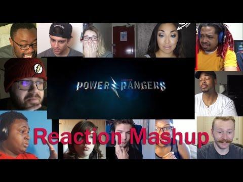 Power Rangers 2017 Movie Official Teaser Trailer  REACTION MASHUP
