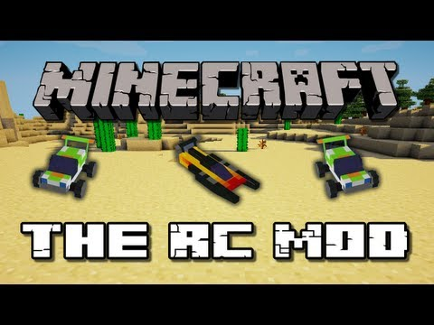 Minecraft Mods - RC Mod (Boat + Car)
