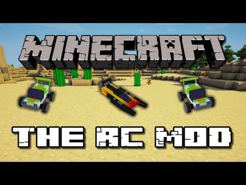 Minecraft Mods - RC Mod (Boat + Car)