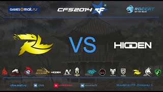 CFS s3 | ruLugends(Russia) vs HIDDEN(Korea) @ Ankara