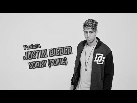 """Paródia de Justin Bieber """"Sorry"""" - Fome - DESCONFINADOS"""