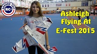 Young Ashleigh Flying Like a Pro at E-Fest 2015