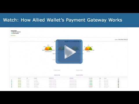 Watch this video and see how simple it is to navigate Allied Wallet's payment gateway. AlliedWallet payment gateway is an e-commerce application service provider that authorizes payments for...