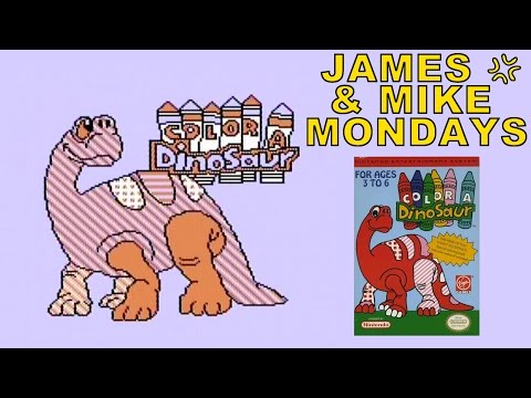 Color A Dinosaur (nes) James & Mike Mondays video