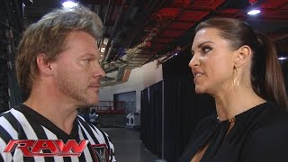 Download Stephanie McMahon berates Chris Jericho: Raw, January 18, 2016 3Gp Mp4